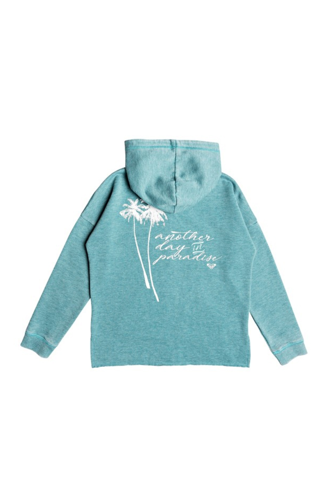 Roxy In The Moment Zip-Up Hoodie - Front Full Image