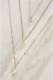Ettika In The Tropics Necklace Set In Gold - Side cropped