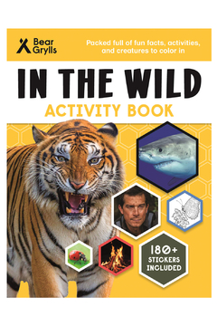 Shoptiques Product: In The Wild Activity Book