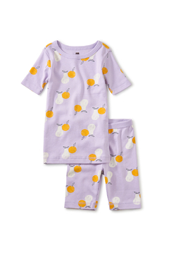 Tea Collection In Your Dreams Pajama Set - Modern Fruit - Alternate List Image