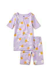 Tea Collection In Your Dreams Pajama Set - Modern Fruit - Front cropped