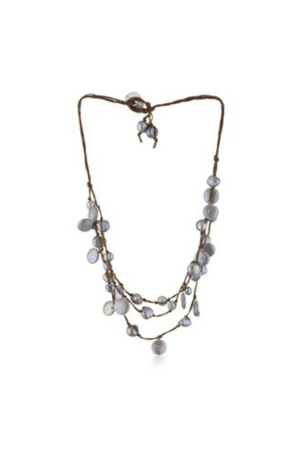 In2Design Sofie Pearl Necklace from Dallas by Gemma Collection
