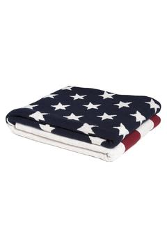 Shoptiques Product: American Flag Throw