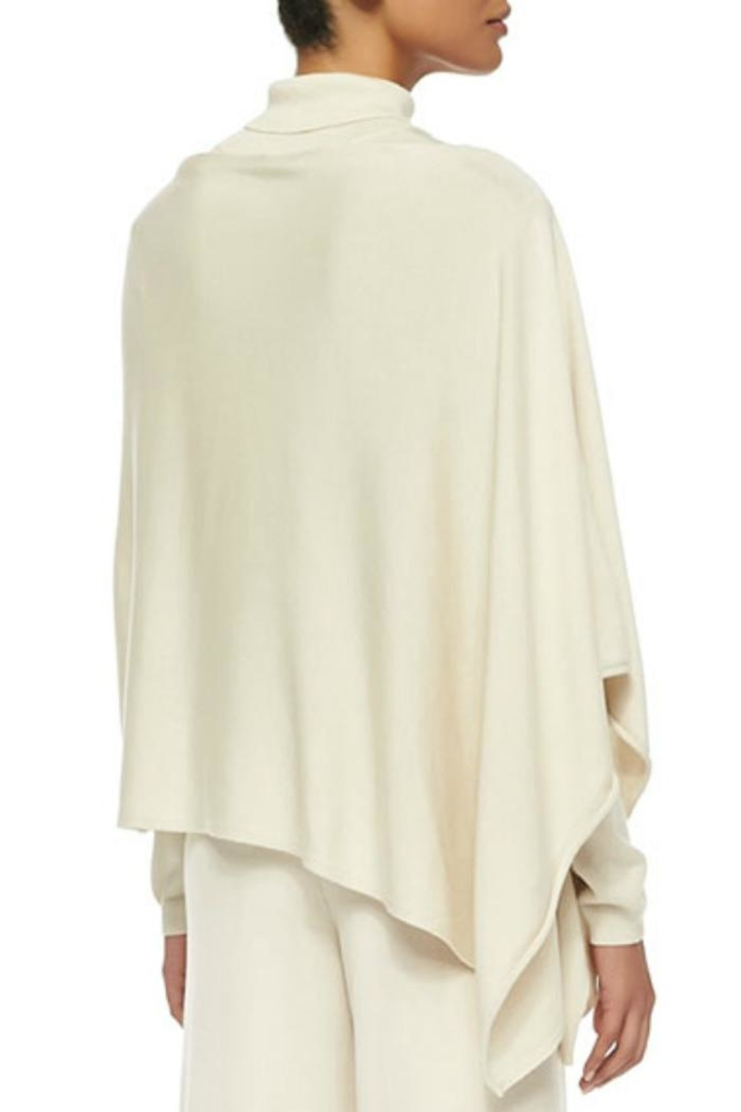 In Cashmere Cashmere Poncho - Front Full Image