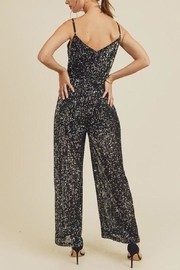 In Loom Black Sequin Jumpsuit - Other