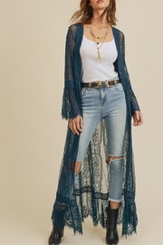 In Loom Boho Lace Duster - Product Mini Image