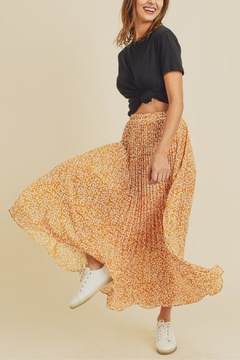 In Loom Dancing Leopard Skirt - Product List Image