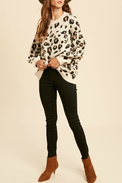 In Loom Darla Leopard Sweater - Product List Image
