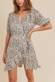In Loom Leopard-Print Wrap Dress - Product Mini Image