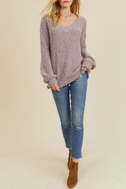 In Loom Popcorn Pullover - Front cropped