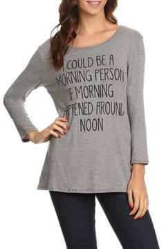Shoptiques Product: Morning Person Tee