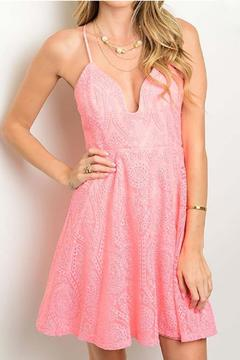Shoptiques Product: Pink Lace Dress