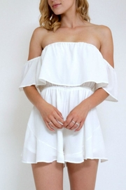in the Beginning Women Offshoulder Romper - Product Mini Image
