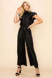 Ina Animal Print Jumpsuit - Front cropped
