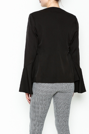 Ina Bell Sleeve Blazer - Back cropped