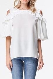 Ina Cold Shoulder Blouse - Product Mini Image