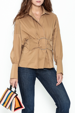 Ina Belted Ring Blouse - Product List Image