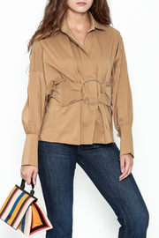 Ina Belted Ring Blouse - Product Mini Image