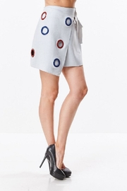 Ina Colored Ring Skirt - Front full body