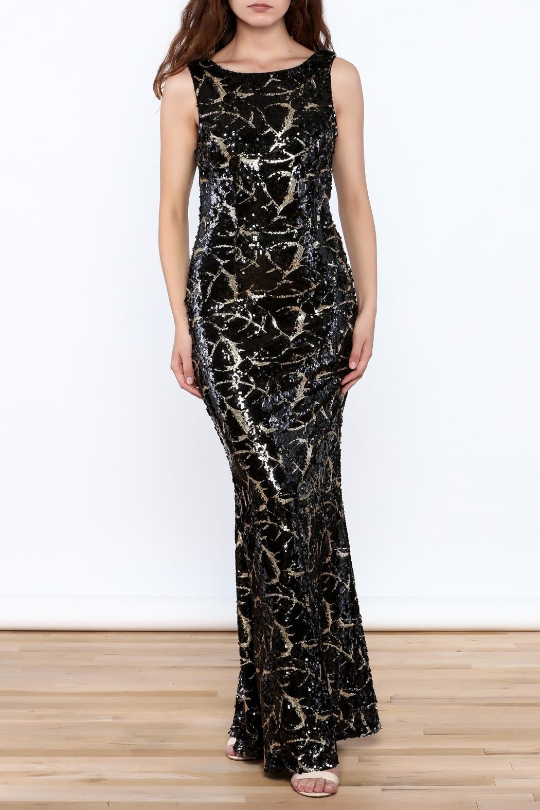 Ina Embellished Sleeveless Gown from New York City by Fashion Queen ...