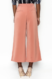Ina Fakeout Wrap Pants - Back cropped