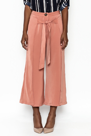 Ina Fakeout Wrap Pants - Front full body