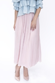 Ina Flat Midi Skirt - Front cropped