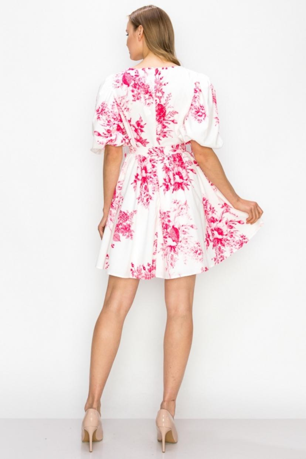 Ina Floral Dress - Front Full Image