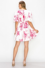 Ina Floral Dress - Front full body