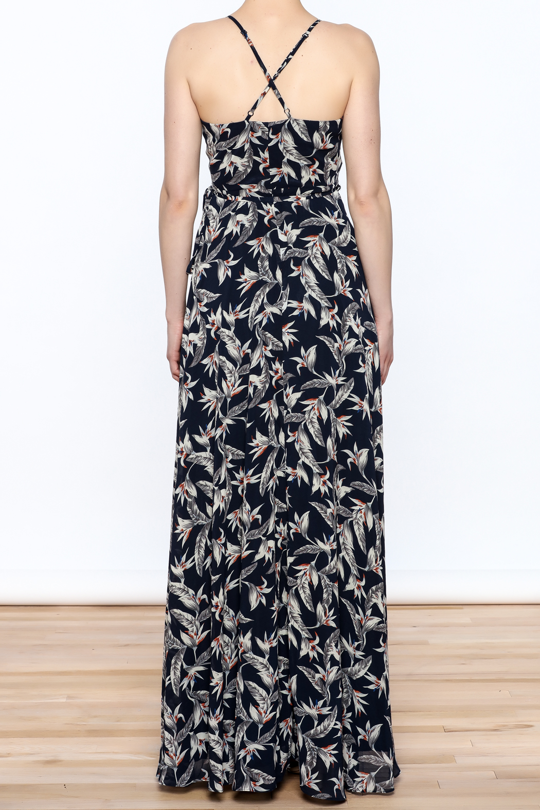 Ina Floral Maxi Dress - Back Cropped Image