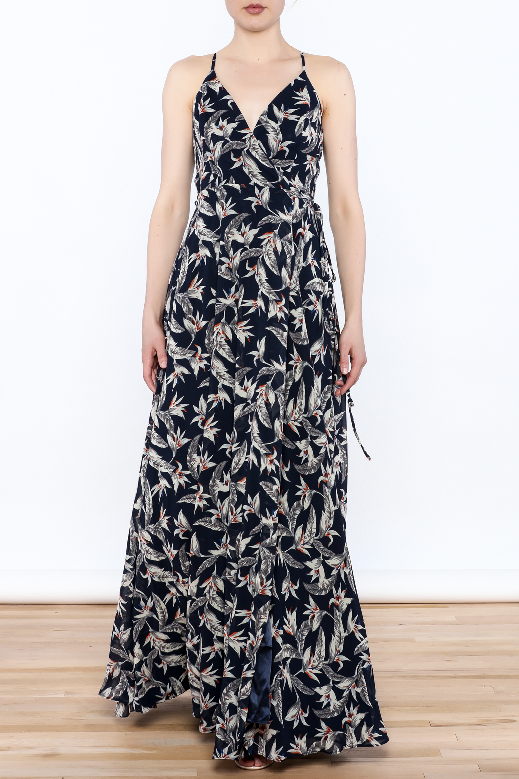 Ina Floral Maxi Dress - Front Cropped Image