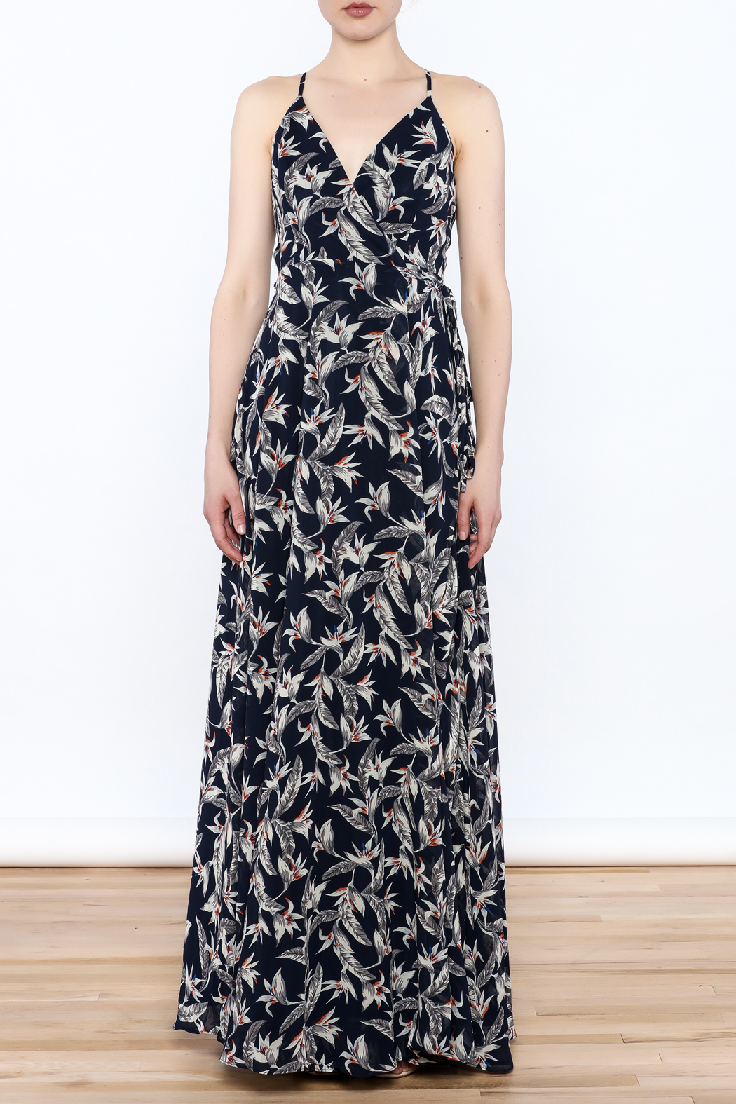 Ina Floral Maxi Dress - Front Full Image