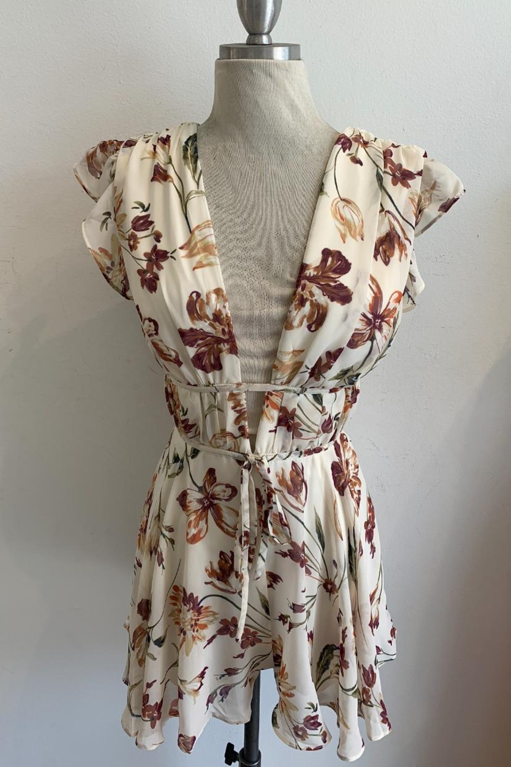 Ina Floral Romper - Main Image