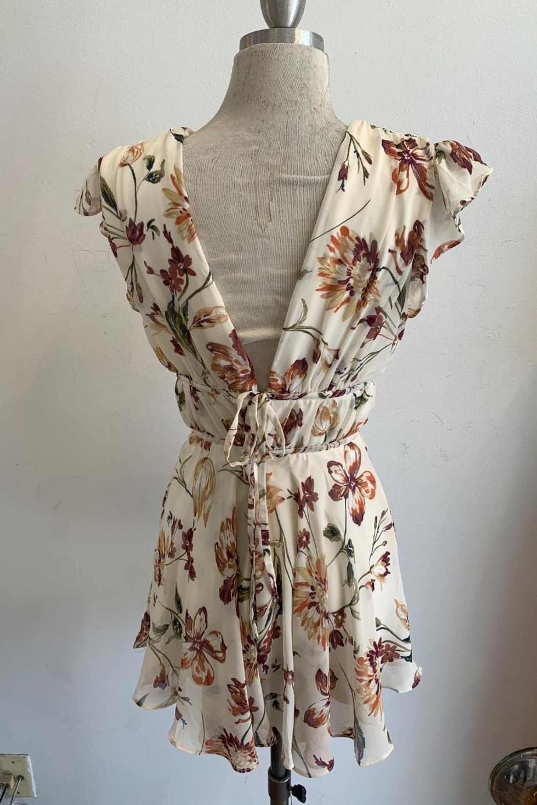 Ina Floral Romper - Front Full Image