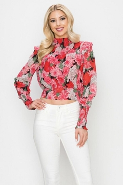 Ina Floral Top - Product List Image