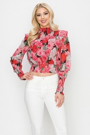 Ina Floral Top - Product Mini Image