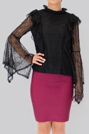 Ina Lace Blouse - Back cropped