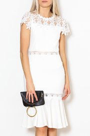 Ina Lace Midi Dress - Product Mini Image