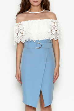 Ina White Mesh Blouse - Product List Image