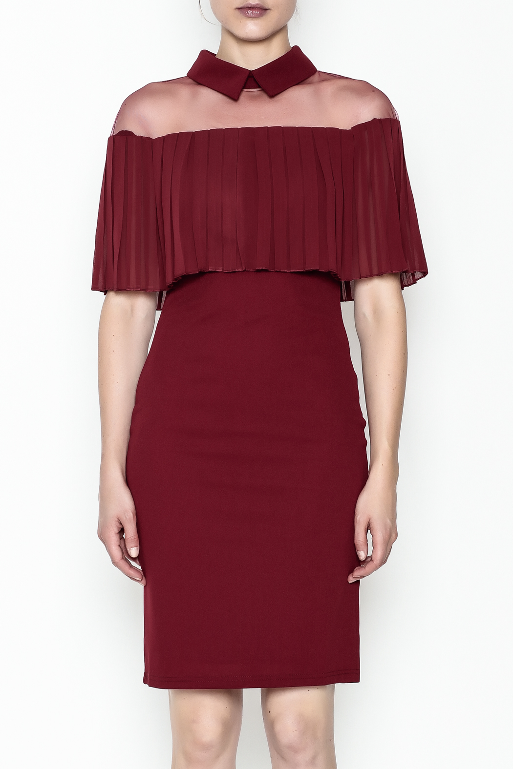Ina Mesh Top Dress - Front Full Image
