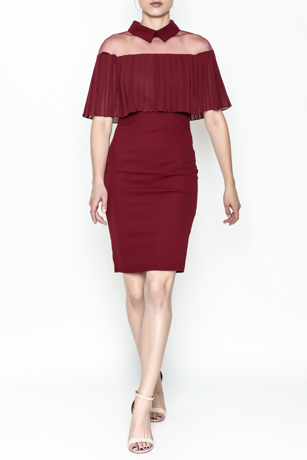 Ina Mesh Top Dress - Side Cropped Image