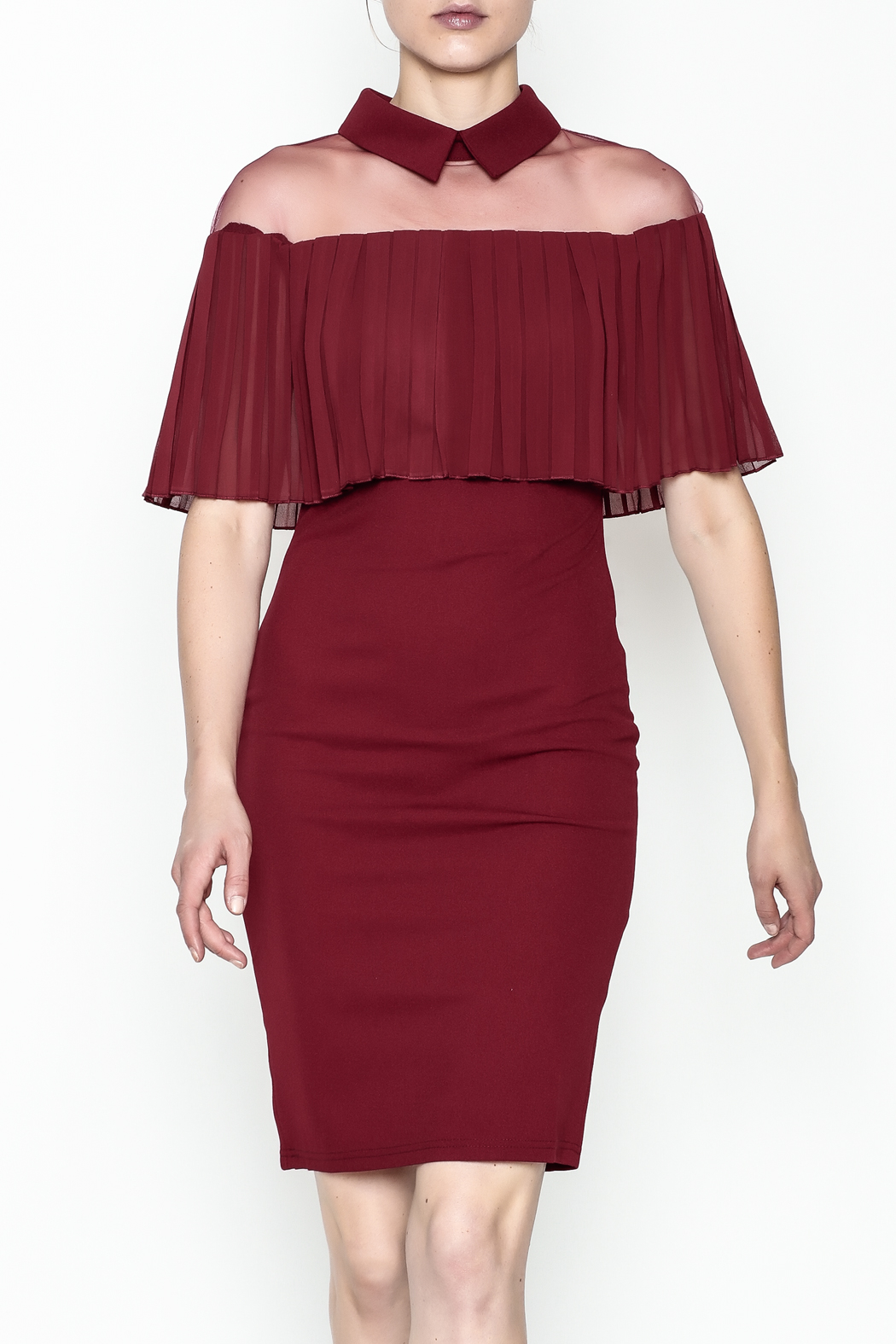 Ina Mesh Top Dress - Front Cropped Image