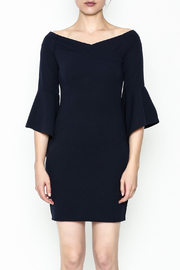 Ina Off Shoulder Statement Dress - Front full body