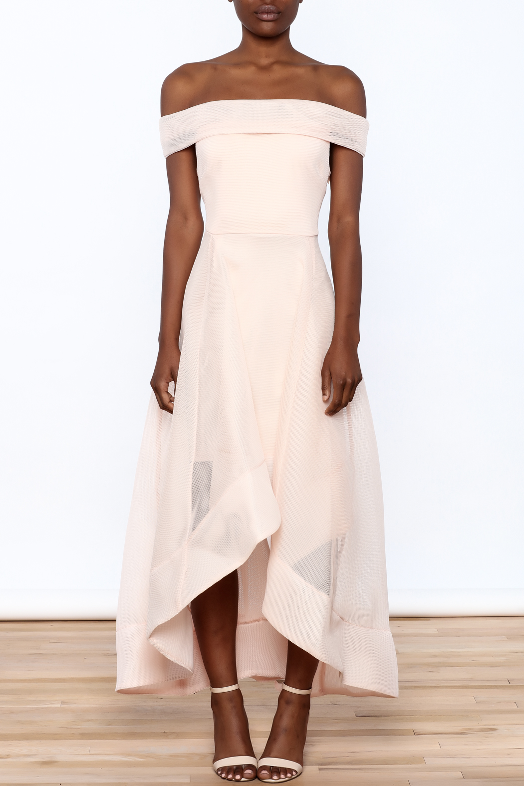 Ina Sweet Blush Dress - Front Cropped Image