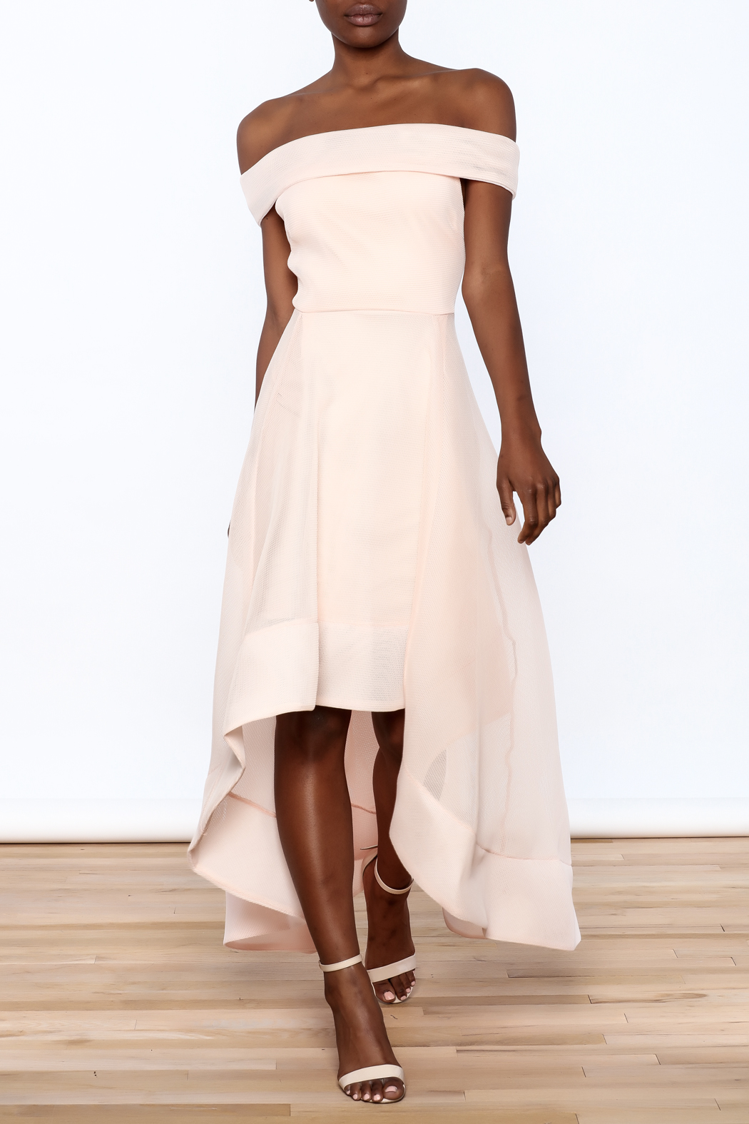 Ina Sweet Blush Dress - Main Image