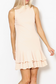 Ina Pearl Collar Dress - Product Mini Image