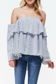 Ina Ruffle Kela Top - Product Mini Image