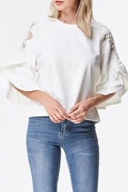 Ina Sleeve Detail Blouse - Product Mini Image