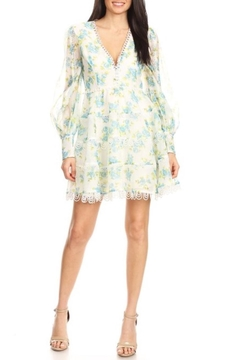Ina Spring Floral Minidress - Product List Image