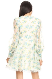 Ina Spring Floral Minidress - Front full body